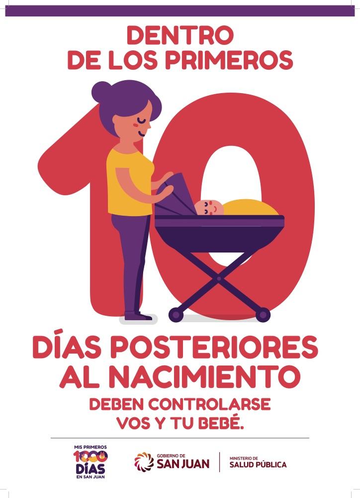 Días posteriores al nacimiento, deben controlarse vos y tu bebé